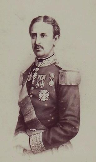 Roi de naples farncois II de bourbon epous de Marie Sophie soeur de Sissi 1860